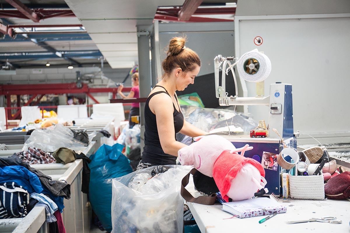 Textielsortering